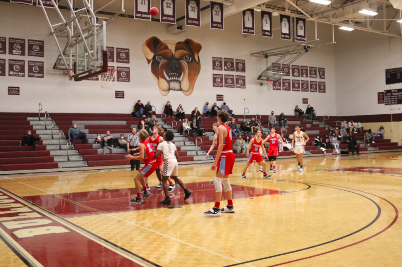 Bearden basketball players adjust to playing with limited attendance, no student section
