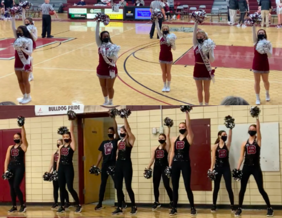 Cheer, dance teams excited about returning to home Bearden basketball games