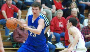 Boys varsity basketball vs. Rushville