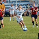 Batesville High School Girls Varsity Soccer beat South Dearborn High School 4-1