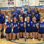 Batesville High School Girls Freshman Volleyball beat Lady Wildcats in title match