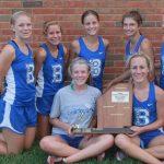 Lady Bulldogs win Ripley County meet
