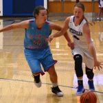 Batesville High School Girls Varsity Basketball falls to Jac-Cen-Del High School 58-39