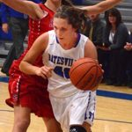 Batesville High School Girls Varsity Basketball falls to East Central High School 43-35