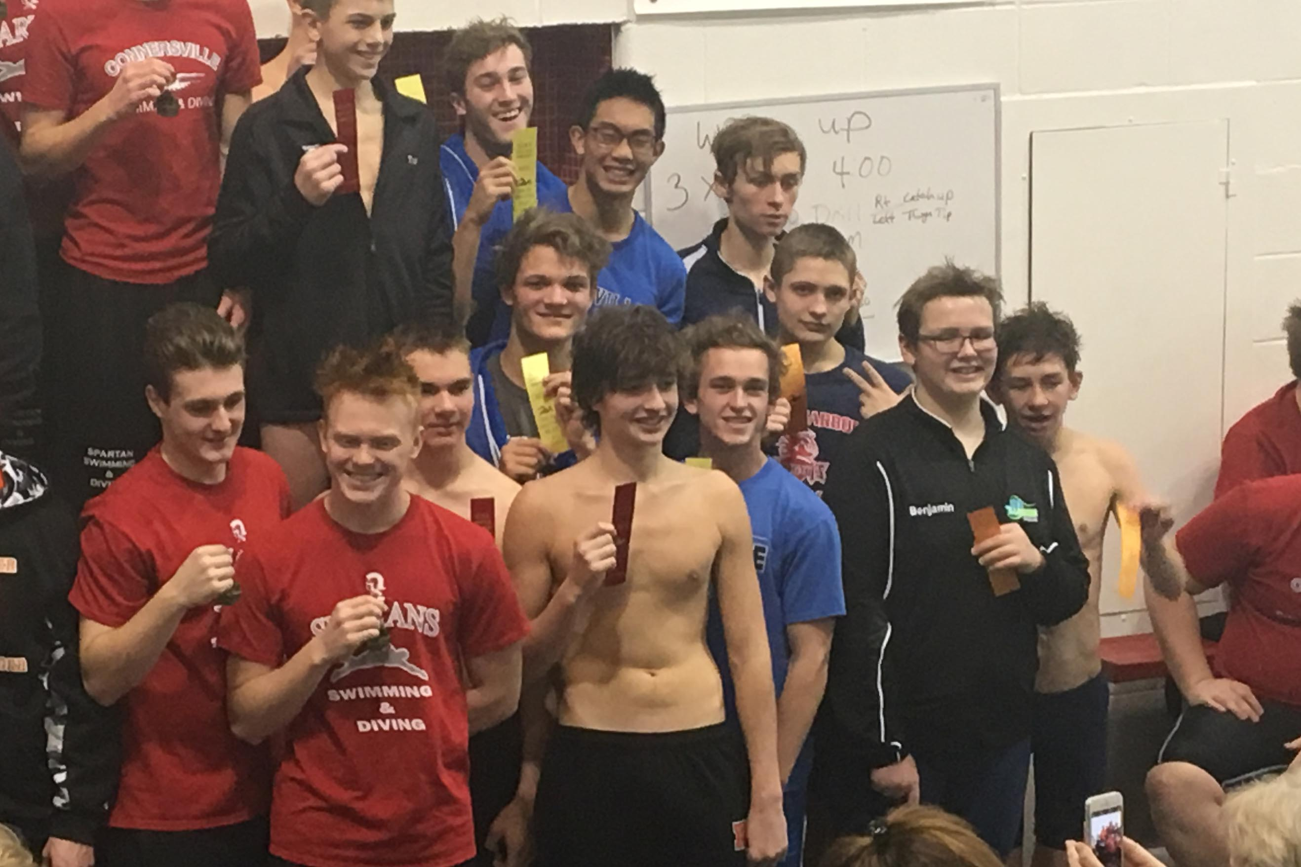 BHS swimmers compete at EIAC meet