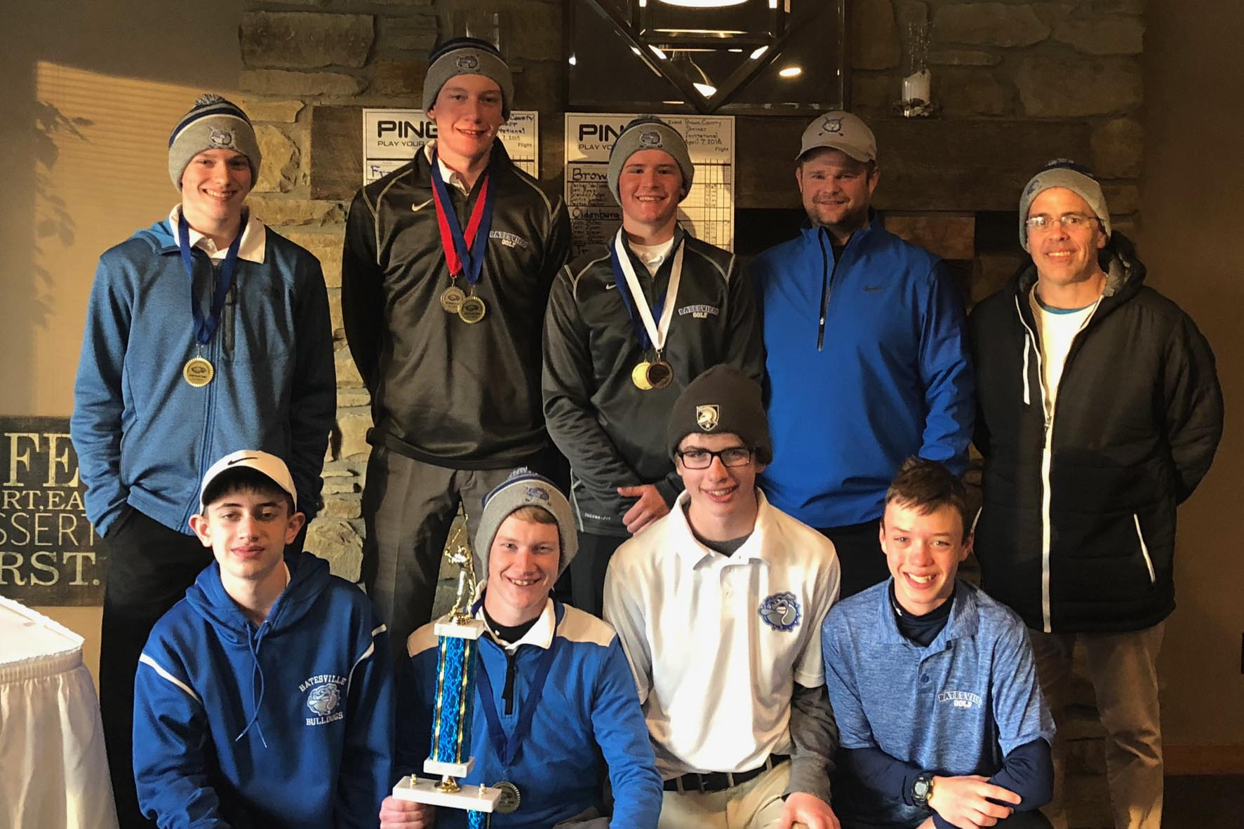Bulldogs place first at Brown County Invitational
