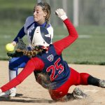 Girls Varsity Softball falls to South Dearborn 2 – 0