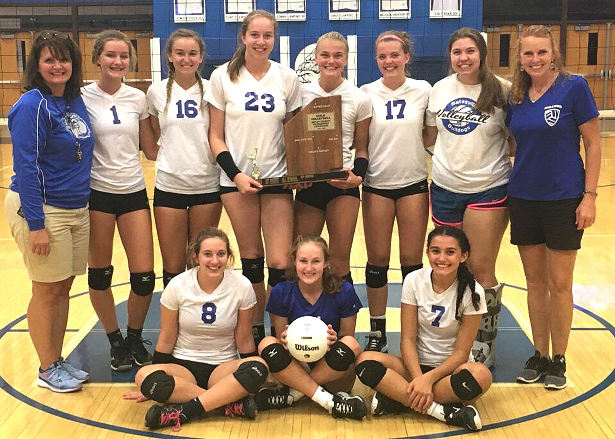 Lady Bulldogs win Ripley County title