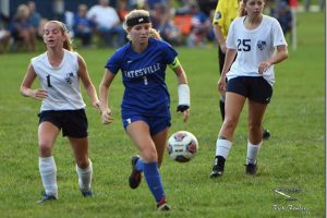 BHS girls soccer vs. SD and HC