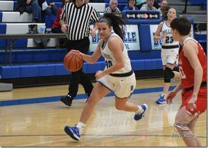Batesville girls basketball vs. Connersvbille
