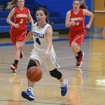 Batesville girls basketball vs. Connersvbille
