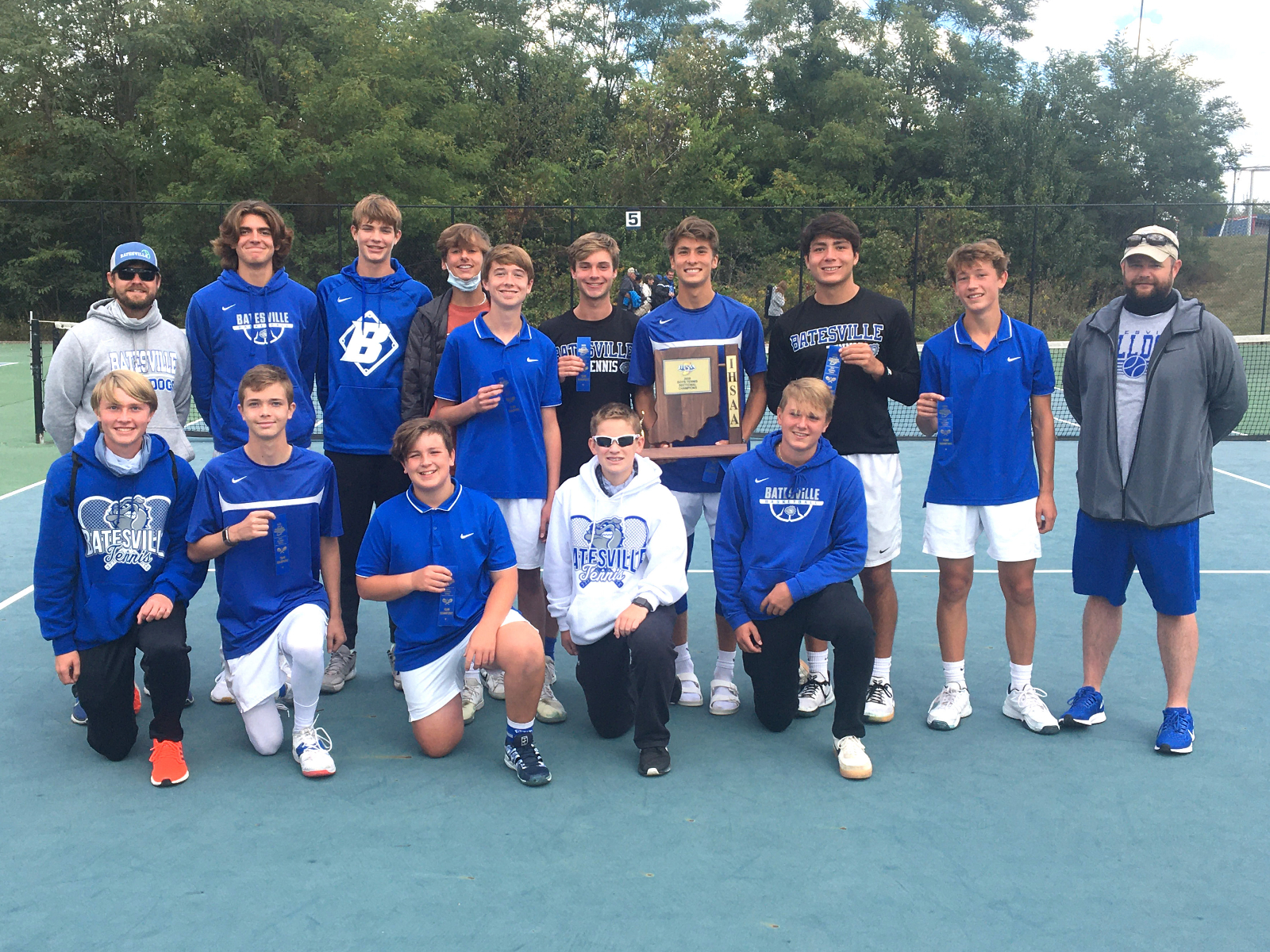 Bulldogs win tennis sectional title