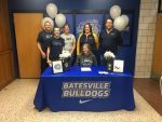 BHS seniors sign recently to play in college