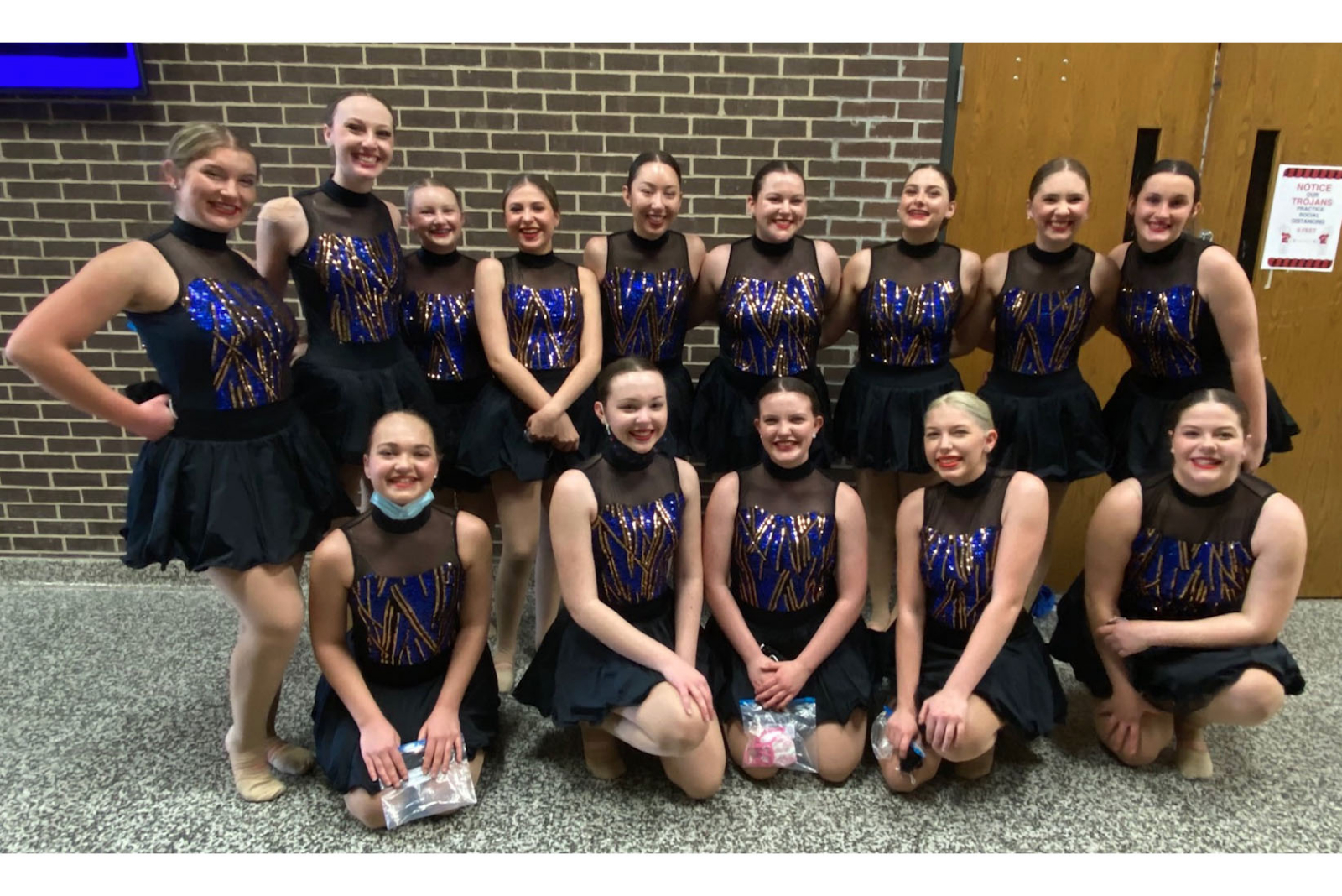 BHS dance team takes top spot in two divisions
