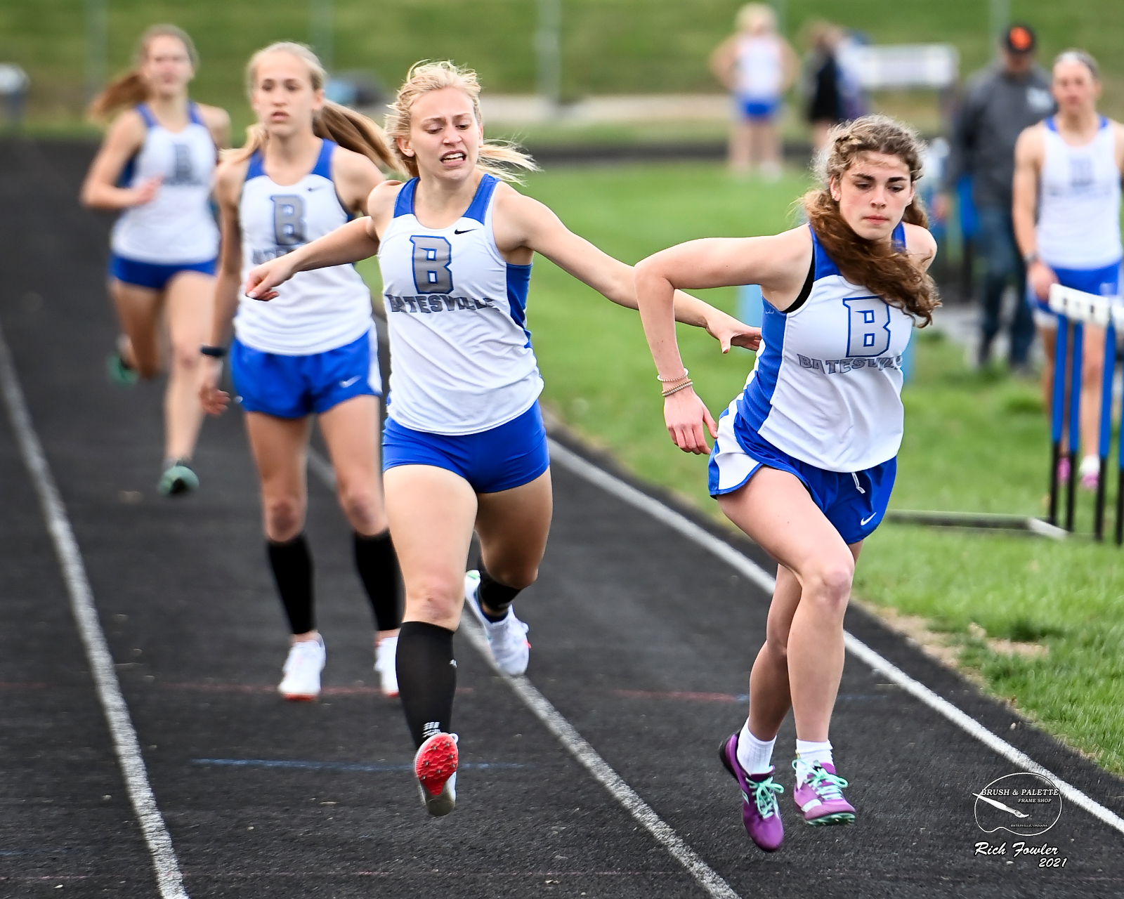 BHS track and field, softball and tennis busy early in spring