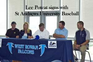 Lee Poteat Signs with St Andrews Baseball