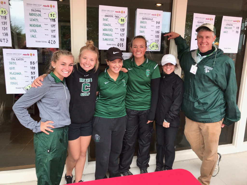 Girls Golf going to the State Finals!