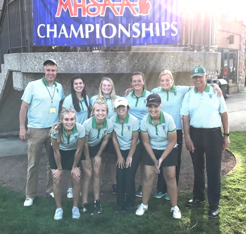 Girls Golf finishes 16th in the state