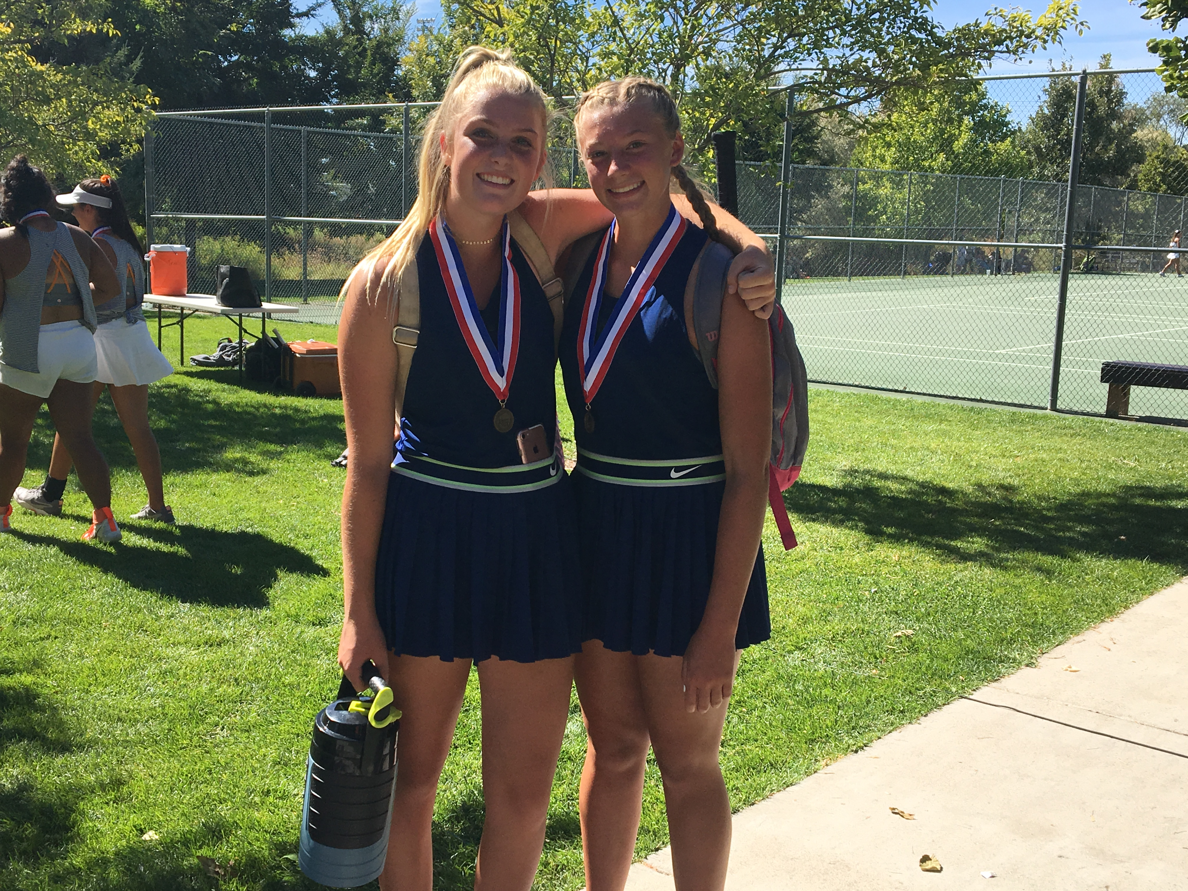 Murphy and Parkinson Qualify For State Tennis Tournament