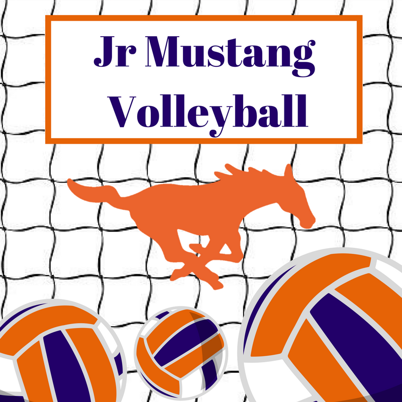 Jr Mustang Volleyball Summer Camp June 11-13