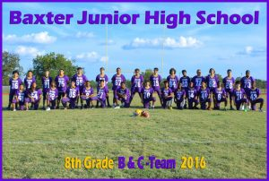 Baxter Jr. High Volleyball, Football, & Cheerleading