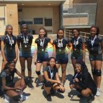 8th Grade A Team Volleyball Takes 2nd In Lady Highlander V-Ball Tourney!!