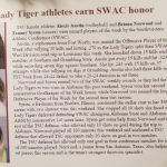 Alexis Austin: Former Volleyball Player Player Of The Week: SWAC