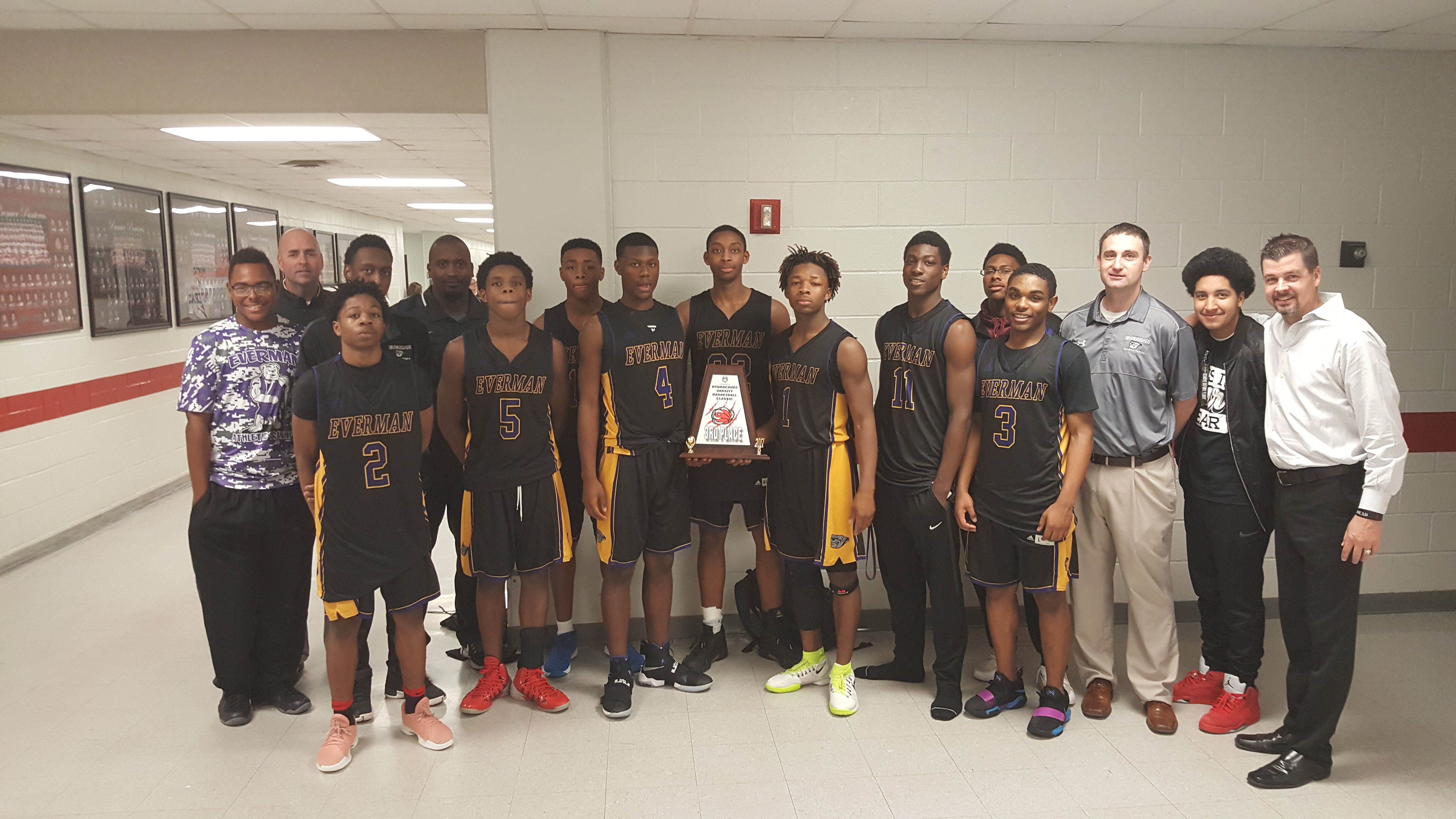 Varsity Boy's Basketball: 3rd Place In Colleyville Heritage Tournament!