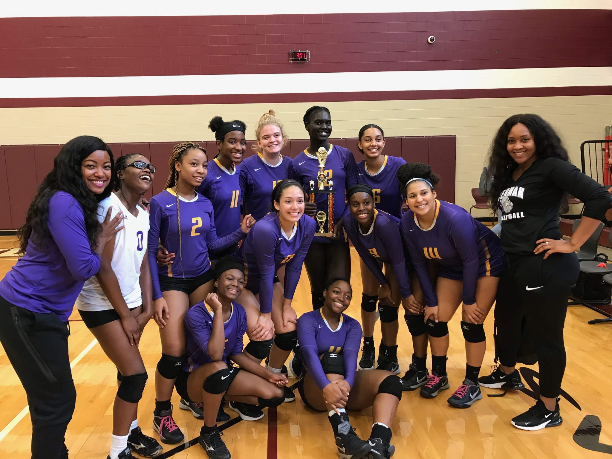 Lady Bulldog Volleyball Wins Copper Bracket In Round Rock!! PICTURES!