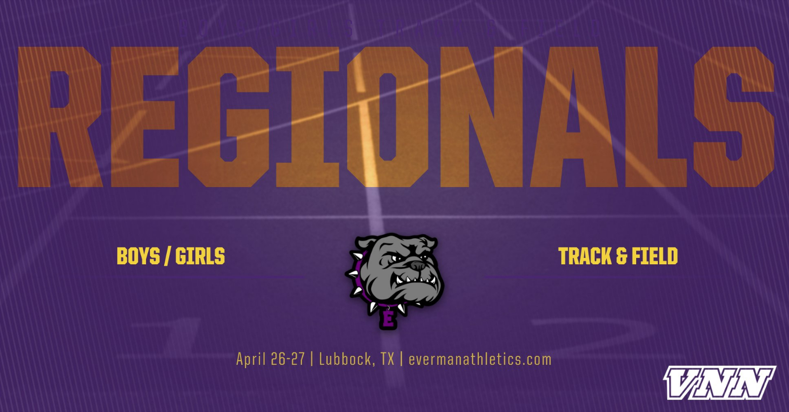 Regional Track & Field Schedule: April 26th & 27th (Lubbock)