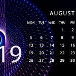 August Athletic Calendar