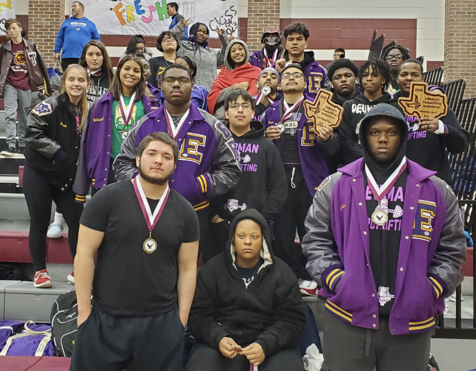 Powerlifters = UNDEFEATED!!! (Hillsboro Champs!)