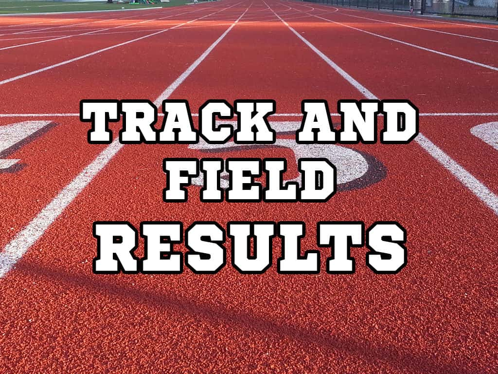 2021 District 8-5A Track & Field Results