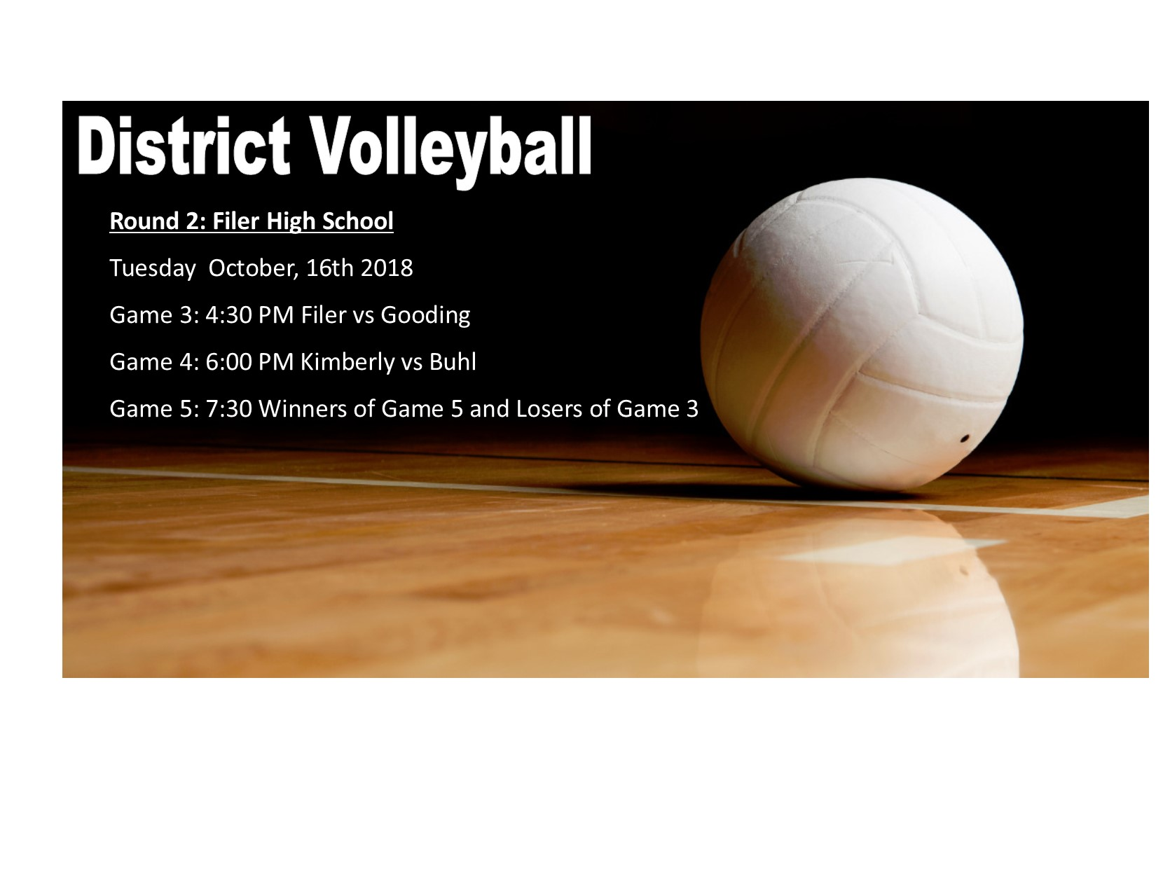 SCIC District Volleyball