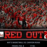 Senior Night Red Out