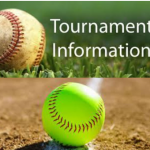 Schedule for the Baseball/Softball Tournament April 5-6