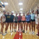 Girls Varsity Volleyball beats Declo 3-0