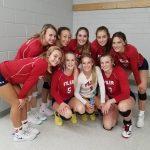 Girls Varsity Volleyball beats Buhl 3-0