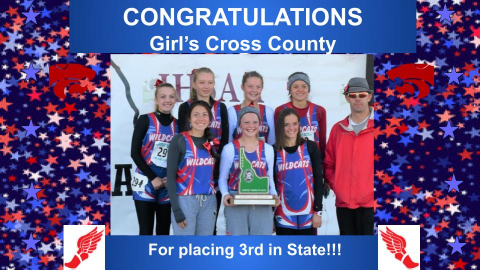 3rd Place State Finish
