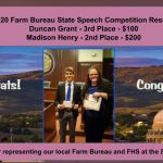 Farm Bureau State Speech Results