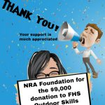 Thank you NRA!