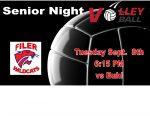 Senior Night Volleyball