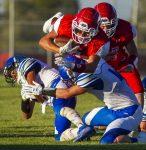 Varsity Football Runs by Valley