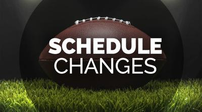 Football Schedule Updates!  Game Changes