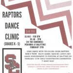 Little Raptors Dance Clinic (Grades  K-5)