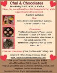 Chai & Chocolate Fundraiser