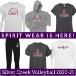 SC Girls Volleyball Spirit Wear Is Here!