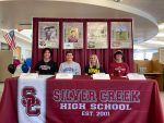 Congratulations to our Signing Athletes!
