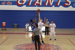 JV Basketball Vs Garey