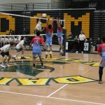 Giants get slayed by Spartans in 3-0 loss in volleyball